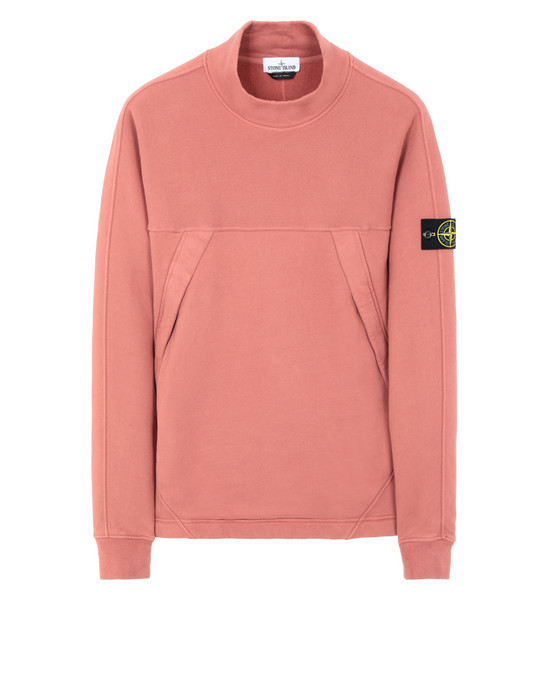 STONE ISLAND 61820 Sweatshirt Man Rust