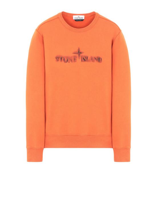 STONE ISLAND 62790 'GRAPHIC ELEVEN' Sweatshirt Man Orange
