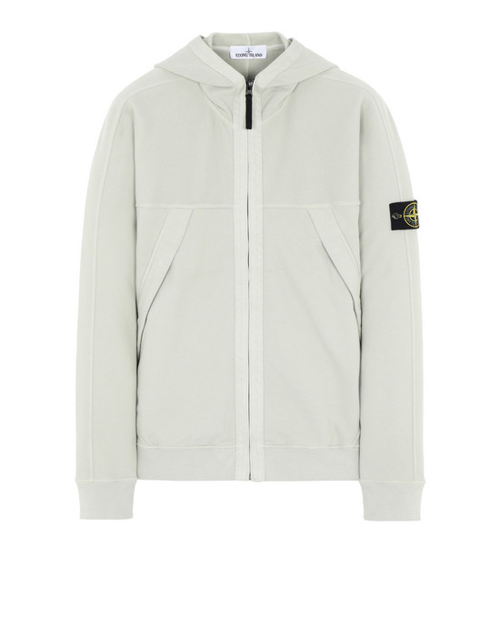 STONE ISLAND 61920 Zip sweatshirt Man Dust Gray