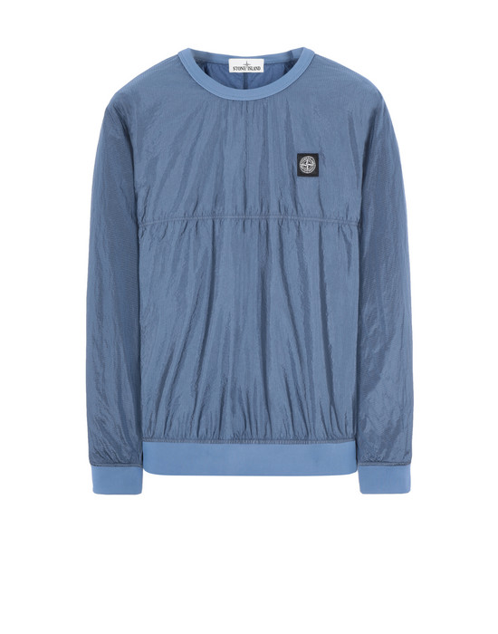 STONE ISLAND 63036 NYLON METAL RIPSTOP-TC  Sweatshirt Man Avio Blue