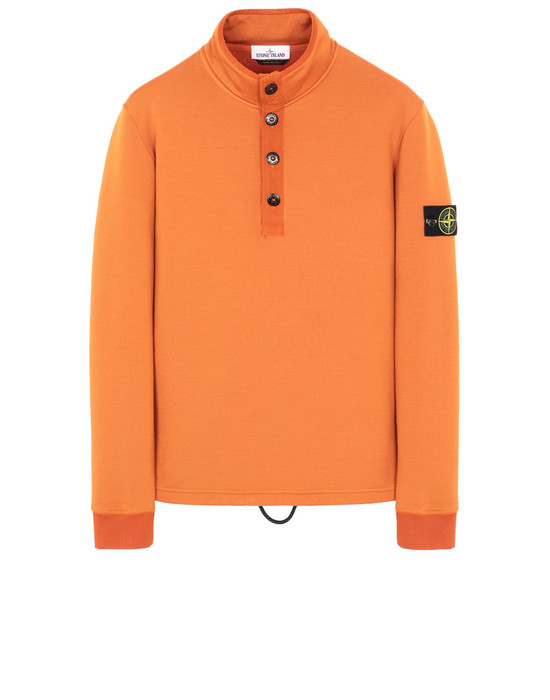 STONE ISLAND 61346 Sweatshirt Man Orange