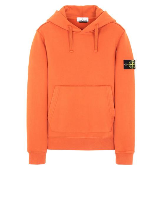 STONE ISLAND 62820 スウェット メンズ オレンジ