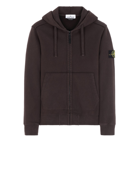 STONE ISLAND 60220 Sweatshirt Man Dark Brown
