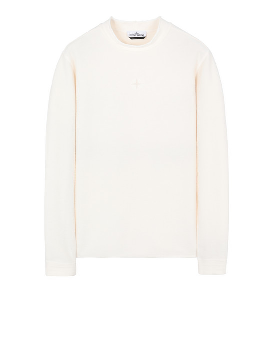 STONE ISLAND 62640 Sweatshirt Man Ivory