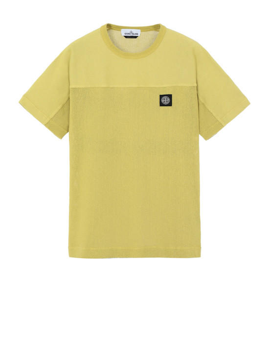 STONE ISLAND SWEAT-SHIRT À MANCHES COURTES 63159