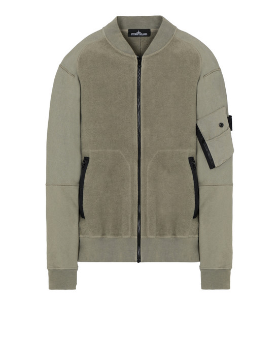 Sweatshirt 60406 INVERT BOMBER JACKET STONE ISLAND SHADOW PROJECT - 0
