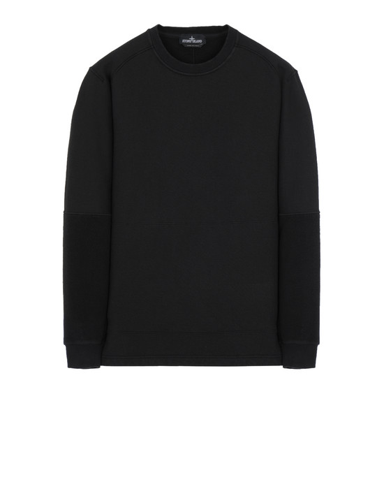 STONE ISLAND SHADOW PROJECT 60106 INVERT CREWNECK 卫衣 男士 黑色