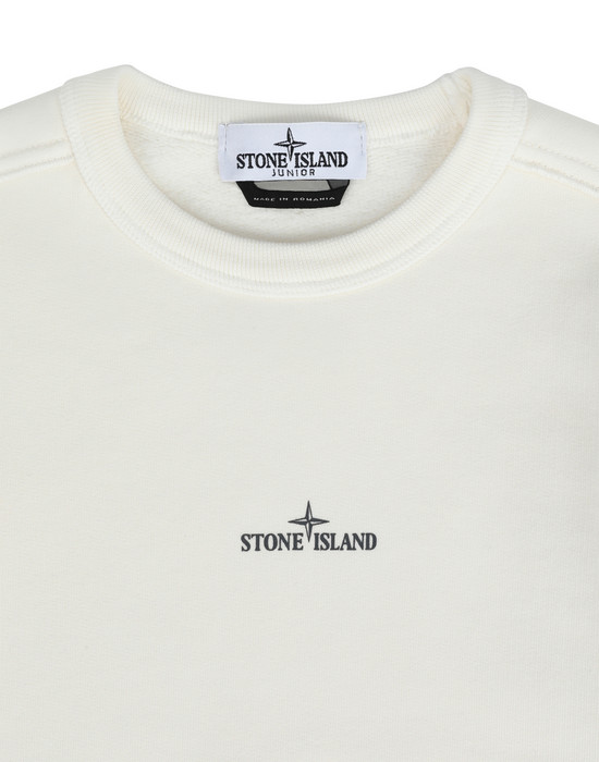 43201001av - FLEECEWEAR STONE ISLAND JUNIOR