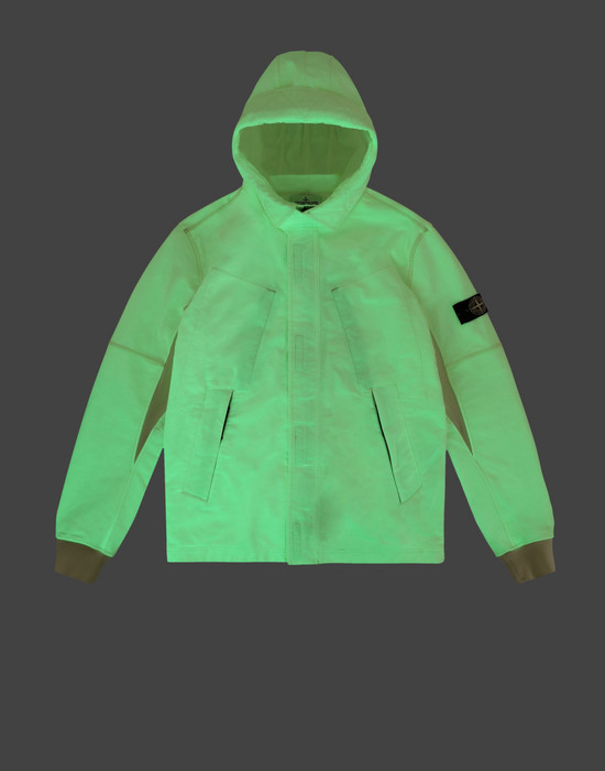 Sudadera con cremallera 62241 GLOW IN THE DARK  STONE ISLAND JUNIOR - 0