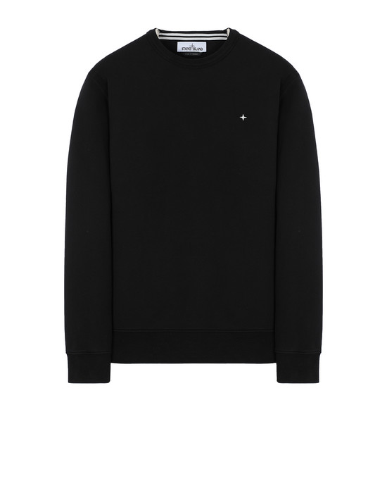 STONE ISLAND 60851 Sweatshirt Man Black