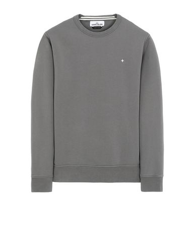STONE ISLAND 60851 Sweatshirt Man Blue Grey EUR 209