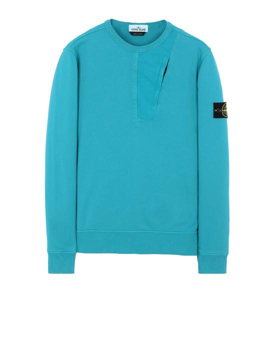 STONE ISLAND 63151 Sweatshirt Man Turquoise