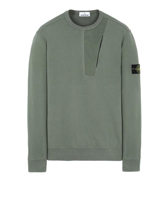STONE ISLAND 63151 Sweatshirt Man Olive Green