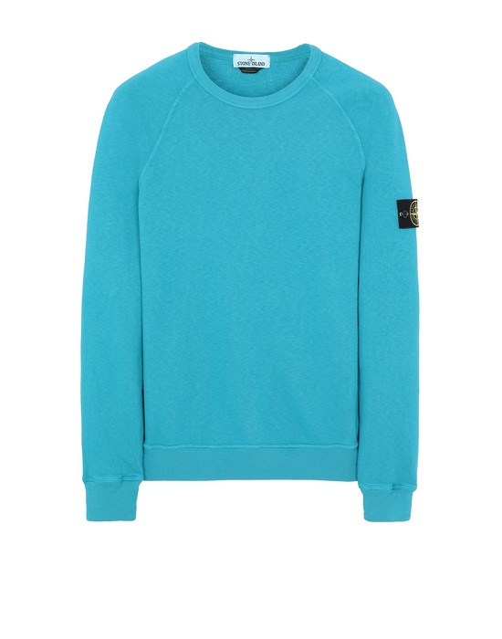 STONE ISLAND 66060 T.CO+OLD Sweatshirt Man Turquoise