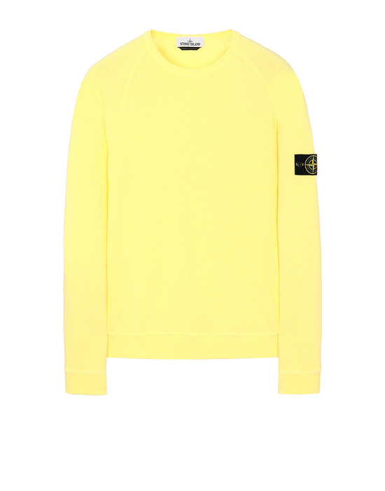 STONE ISLAND 66060 T.CO+OLD Sweatshirt Man Lemon
