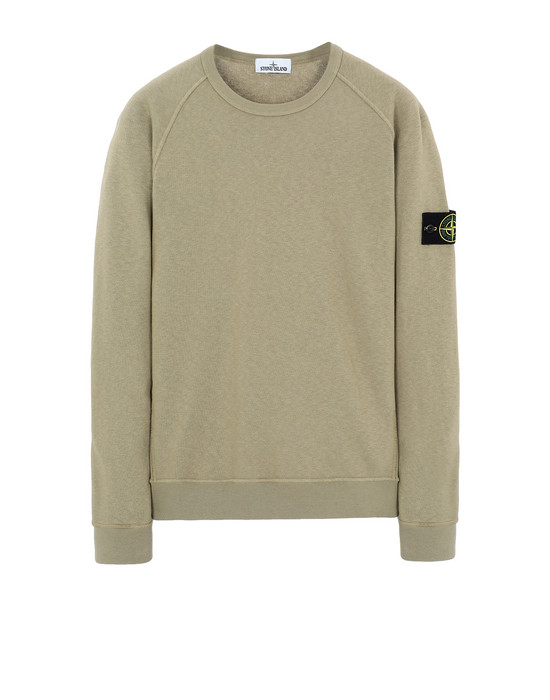 STONE ISLAND 66060 T.CO+OLD Sweatshirt Man Dark Beige