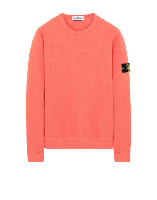 STONE ISLAND 66060 T.CO+OLD Sweatshirt Man Lobster Red