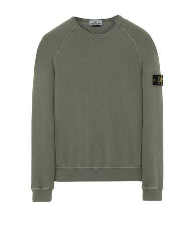STONE ISLAND 66060 T.CO+OLD Sweatshirt Man Olive Green EUR 209