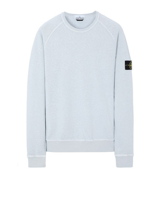 STONE ISLAND 66060 T.CO+OLD Sweatshirt Man Baby Blue