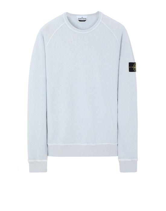 STONE ISLAND 66060 T.CO+OLD Sweatshirt Man Pale Blue