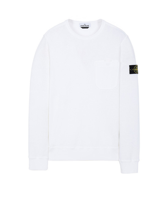 STONE ISLAND 63560 T.CO+OLD Sweatshirt Man White