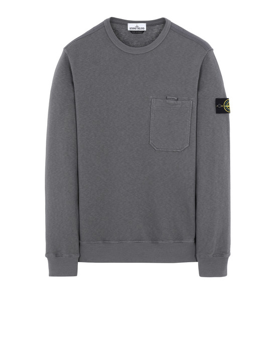 STONE ISLAND 63560 T.CO+OLD Sweatshirt Man Blue Grey