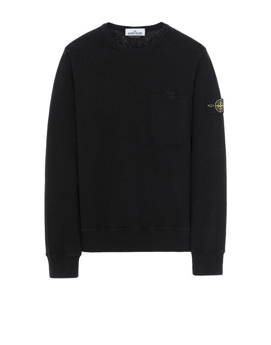STONE ISLAND 63560 T.CO+OLD Sweatshirt Man Black