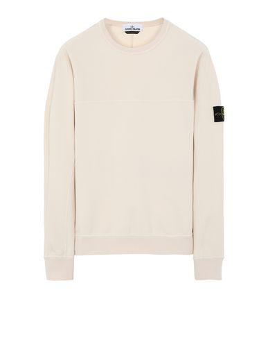 STONE ISLAND 62152 Sweatshirt Man Beige EUR 181