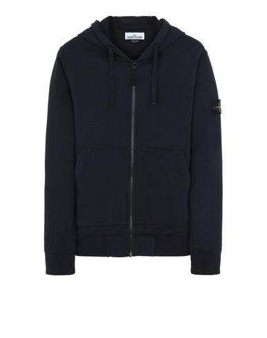 STONE ISLAND 64251 Zip sweatshirt Man Blue EUR 174