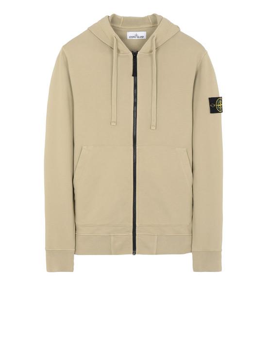 STONE ISLAND 64251 Zip sweatshirt Man Dark Beige
