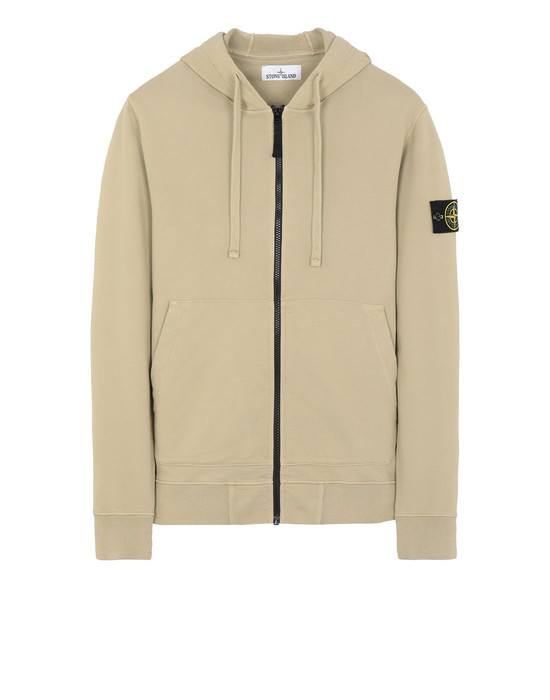 Zip sweatshirt Man 64251 Front STONE ISLAND