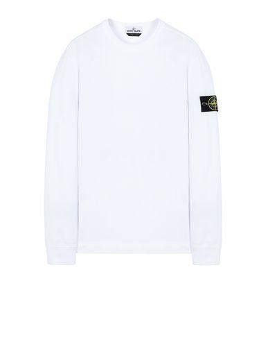 STONE ISLAND 64450 Sweatshirt Herr Weiß EUR 123