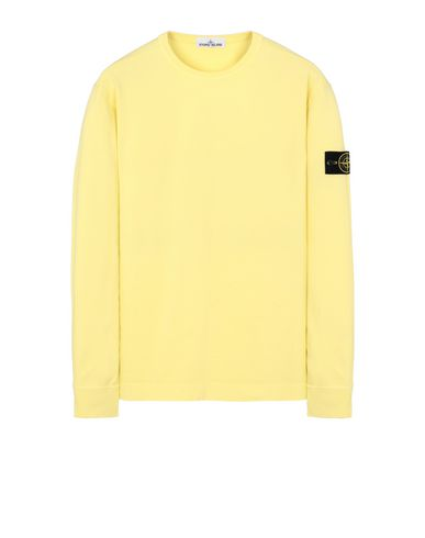 STONE ISLAND 64450 Sweatshirt Man Lemon EUR 163