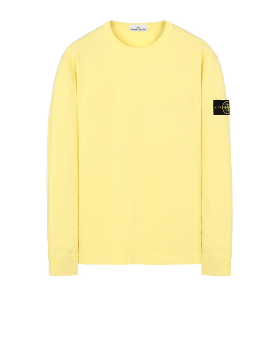 STONE ISLAND 64450 Sweatshirt Man Lemon