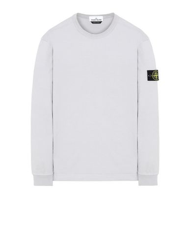STONE ISLAND 64450 Sweatshirt Man Dust Gray USD 228