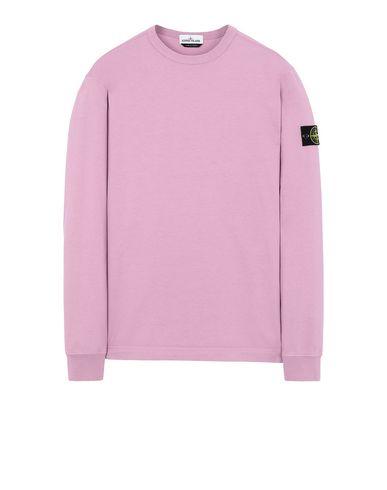 STONE ISLAND 64450 Sweatshirt Man Pink Quartz USD 158