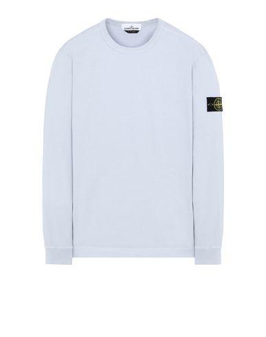 STONE ISLAND 64450 Sweatshirt Man Sky Blue USD 122