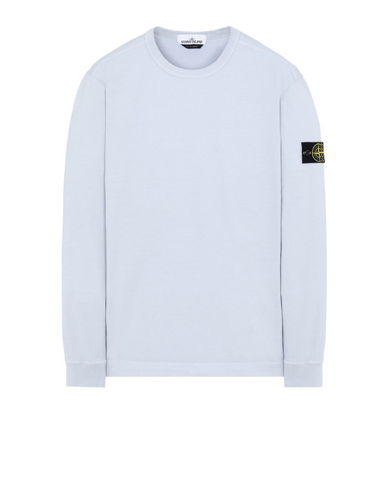 STONE ISLAND 64450 Sweatshirt Man Sky Blue
