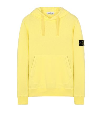 STONE ISLAND 64960 T.CO+OLD Sweatshirt Man Lemon EUR 248