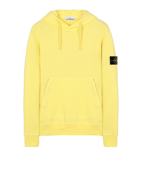 STONE ISLAND 64960 T.CO+OLD Sweatshirt Man Lemon