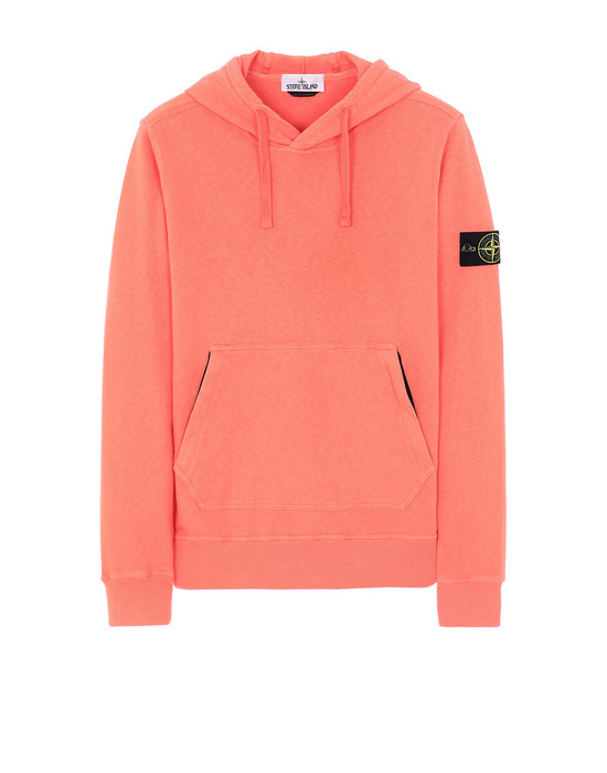 STONE ISLAND 64960 T.CO+OLD Sweatshirt Man Lobster Red