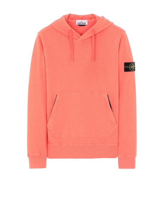 STONE ISLAND 64960 T.CO+OLD Sweatshirt Homme Rouge écrevisse