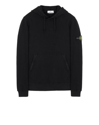 STONE ISLAND 64960 T.CO+OLD Sweatshirt Man Black USD 209