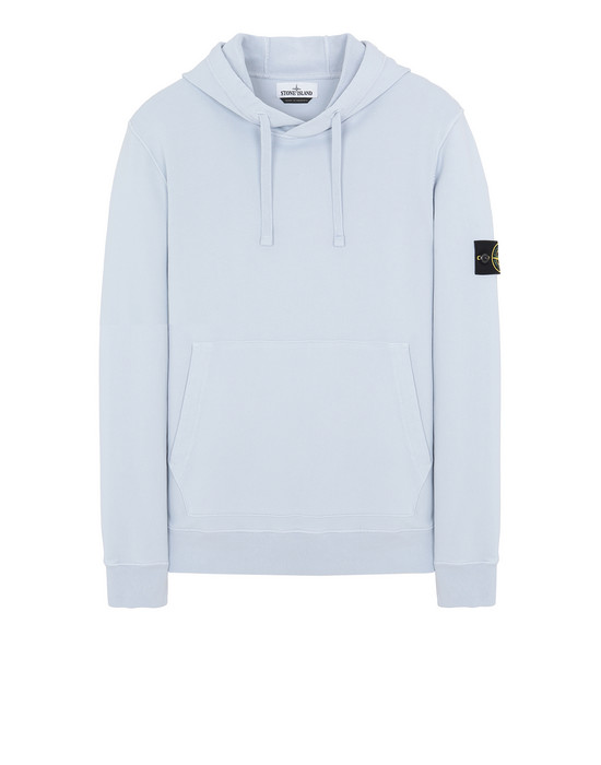 STONE ISLAND 64151 Sweatshirt Man Pale Blue