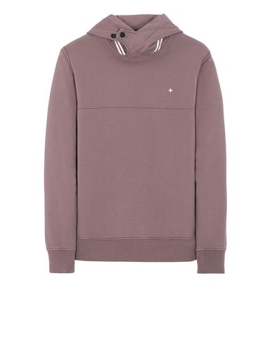 STONE ISLAND 60151 Sweatshirt Man MAHOGANY BROWN USD 172