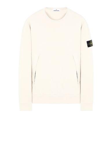 STONE ISLAND 61151 Sweatshirt Man Ivory EUR 248