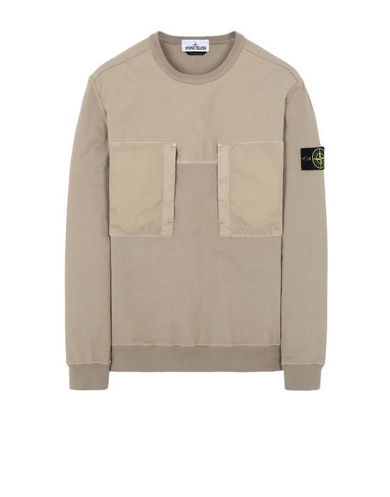 Sweatshirt Man 61953 Front STONE ISLAND