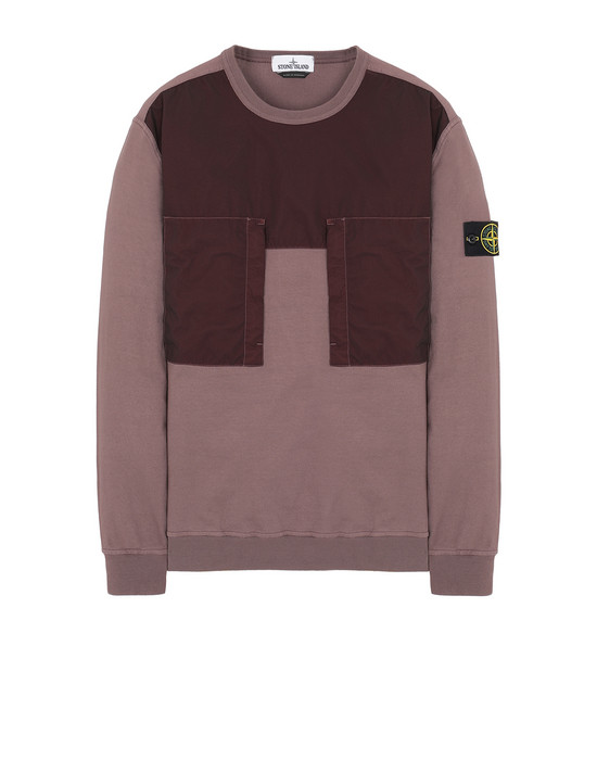 STONE ISLAND 61953 Sweatshirt Man MAHOGANY BROWN