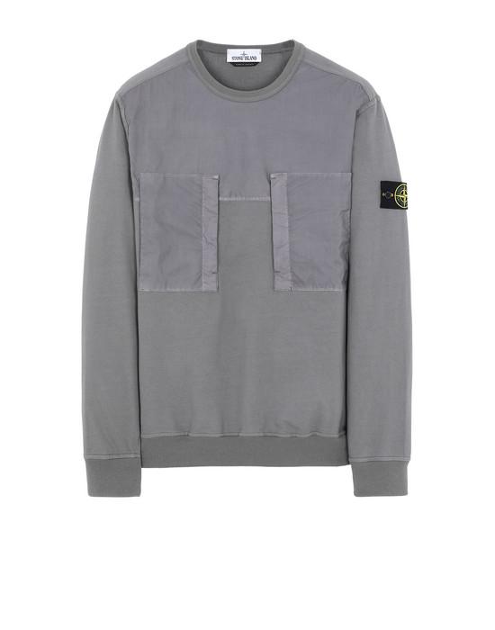 STONE ISLAND 61953 Sweatshirt Homme Bleu gris