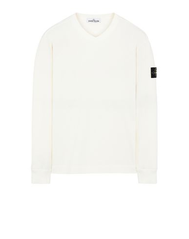 STONE ISLAND 64350 Sweatshirt Man Ivory EUR 163